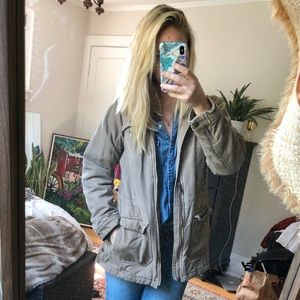 Duluth trading tan coat